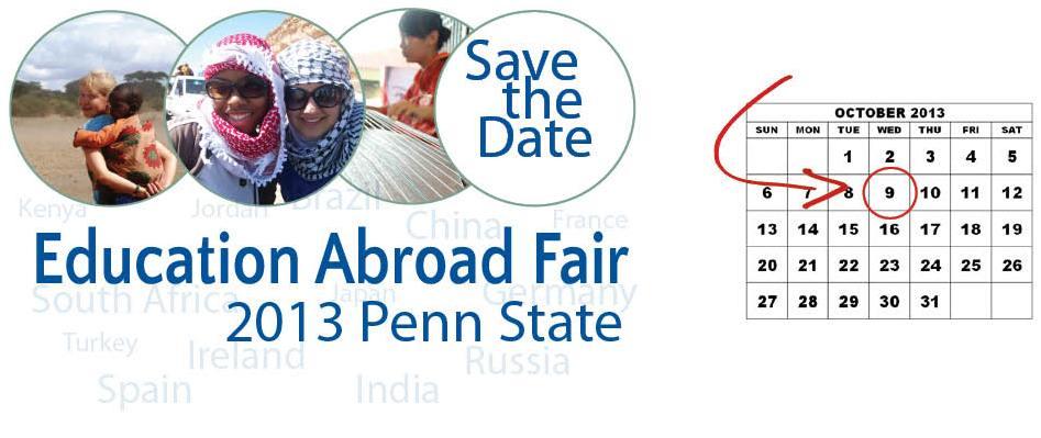 study abrad fair 2013 (UOGP)