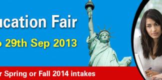 usa Education fair 2013 idp scedule