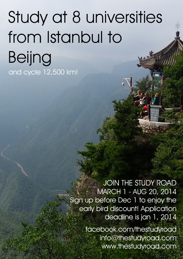 Study at 8 Universities from Istanbul to Beijing