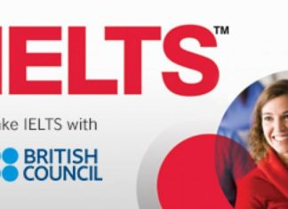 IELTS British Council no photographs required