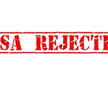 My Visa Is rejected