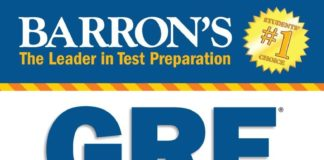 Barrons New GRE Book